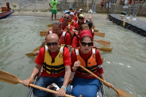Dragon Boat Couple Cohen, Alona & Beni 17