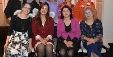מסיבת פורים חגיגית מעניקה הפוגה מבורכת לקורבנות הטרור